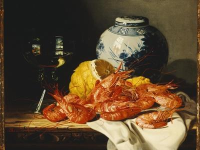 https://imgc.artprintimages.com/img/print/shrimps-a-peeled-lemon-a-glass-of-wine-and-a-blue-and-white-ginger-jar-on-a-draped-table_u-l-pw984a0.jpg?p=0