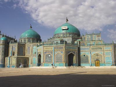 Shrine of Hazrat Ali, Who was Assassinated in 661, Mazar-I-Sharif, Afghanistan-Jane Sweeney-Photographic Print