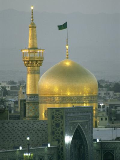 Shrine of Imam Reza, Eighth Shi'Ite Imam, Born in Medina in 765 Ad-Martin Gray-Photographic Print
