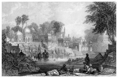 Shrine of Raiman Shah Doola, Elichpur-James Gardner-Giclee Print