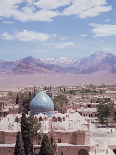 Shrine of Shah Nema Tullah, Mahan, Iran, Middle East-Robert Harding-Photographic Print