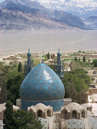 Shrine of Shah Nematulla Vali, Mahan, Iran, Middle East-Harding Robert-Photographic Print