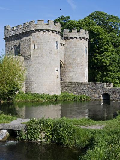 Shropshire, Whittington, Whittington Castle, England-John Warburton-lee-Photographic Print