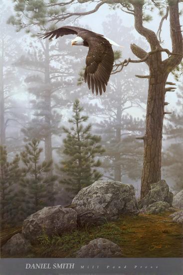 Shrouded Forest (detail)-Daniel Smith-Art Print