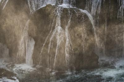Štrba?ki Buk, Una NP. Štrba?ki Buk Waterfalls Una River, Borders Bosnia, Herzegovina & Croatia-Karine Aigner-Photographic Print