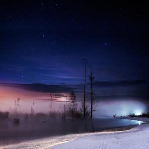 A Winter Night by Shu-Guang Yang