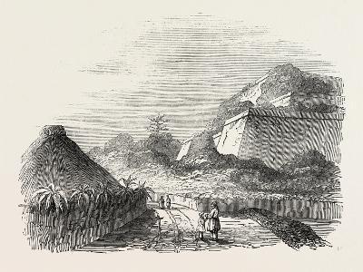 Shuidi, the Capital of Loo Choo, Chinese Seas, Loo-Choo Islands, Ryukyu Islands, 1851--Giclee Print