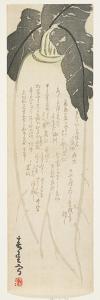 Daikon Radish, January 1864 by Shunsei