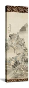 """""""Un chemin dans la montagne"""" by Shunsei Sha"""