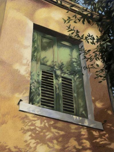 Shuttered Window in Italy, c.1996-Helen J^ Vaughn-Giclee Print