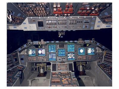Shuttle Flight Deck--Art Print