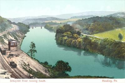 Shuykill River, Reading--Art Print