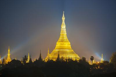 Shwedagon Pagoda, the Most Sacred Buddhist Pagoda in Myanmar, Yangon (Rangoon)-Craig Easton-Photographic Print