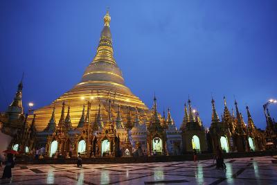 Shwegadon Pagoda Rangoon; Burma, Myanmar-Design Pics Inc-Photographic Print