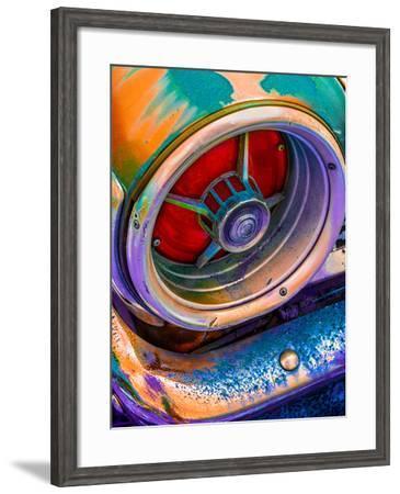 Si-Fi Tail Light-Steven Maxx-Framed Photographic Print