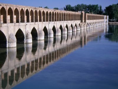 Si-O-Se Bridge, Bridge of 33 Archs, Esfahan, Iran-Simon Richmond-Photographic Print