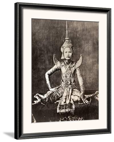 Siam: Dancer, C1870--Framed Photographic Print