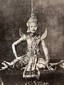 Siam: Dancer, C1870