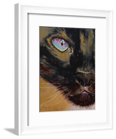 Siamese Cat-Michael Creese-Framed Art Print