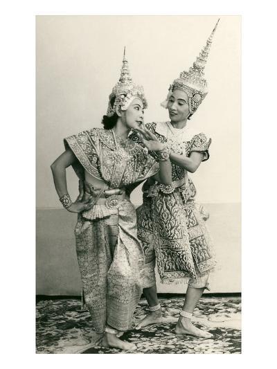 Siamese Temple Dancers--Art Print