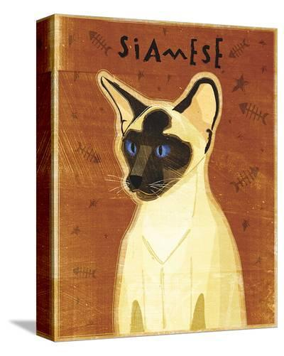 Siamese-John Golden-Stretched Canvas Print