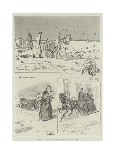 Siberia in Winter-Frederick Pegram-Giclee Print