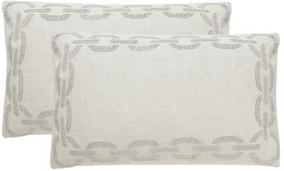 Sibine Pillow Pair - Cement--Home Accessories