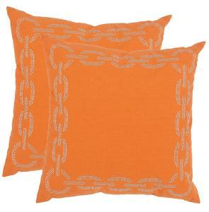Sibine Pillow Pair - Orange