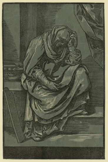 Sibyll, Between 1630 and 1655-Bartolomeo Coriolano-Giclee Print
