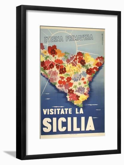 Sicilia-Marcus Jules-Framed Giclee Print