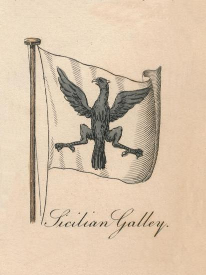 'Sicilian Galley', 1838-Unknown-Giclee Print