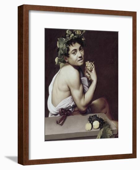 Sick Bacchus-Caravaggio-Framed Giclee Print