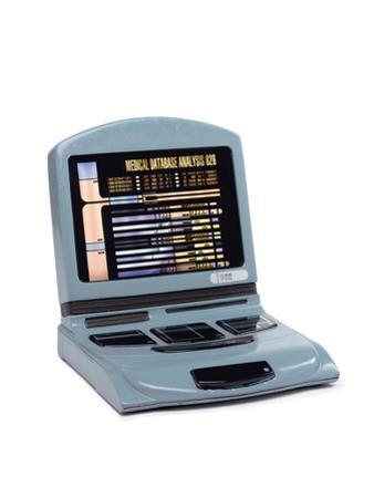 Sickbay Desktop Computer, Prop Used in 'Star Trek: Voyager', C.1995