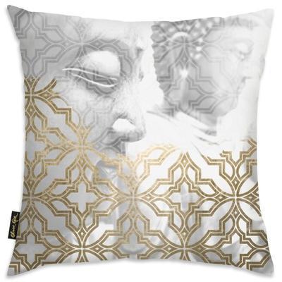 Siddharta Blanc Throw Pillow