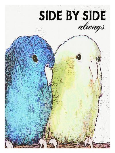 Side By Side Always-Lisa Weedn-Giclee Print