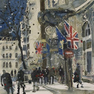 Side Entrance to The Ritz-Susan Brown-Giclee Print