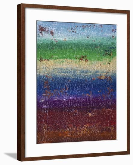 Side of the Moon - Canvas II-Hilary Winfield-Framed Giclee Print