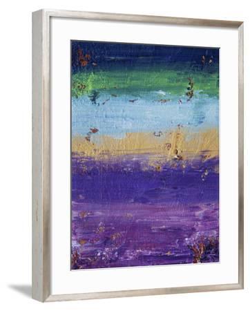 Side of the Moon - Canvas III-Hilary Winfield-Framed Giclee Print