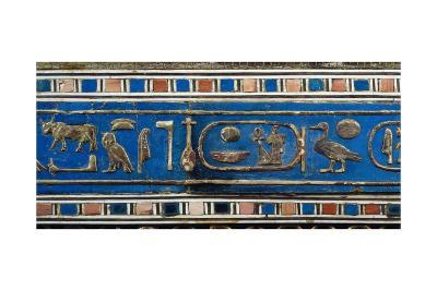 Side Panel of Tjuyu's Casket of Jewels--Giclee Print