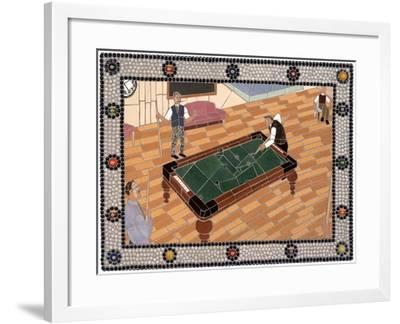Side Pocket-Jonathan Mandell-Framed Giclee Print
