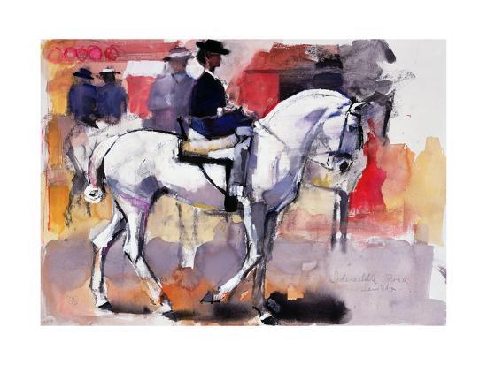 Side-Saddle at the Feria De Sevilla, 1998-Mark Adlington-Giclee Print