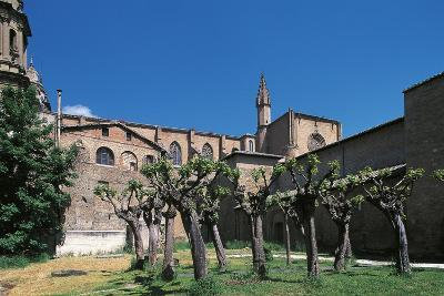 Side View of Pamplona Cathedral, Navarra, Spain--Photographic Print