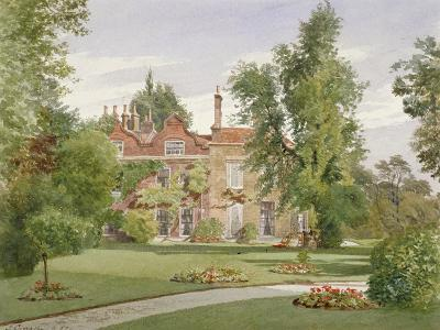 Side View of Raleigh House, Brixton Hill, Lambeth, London, 1887-John Crowther-Giclee Print