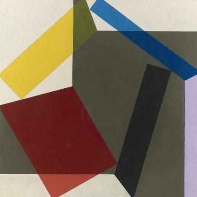 Sidefold V, 1985-Michael Canney-Giclee Print