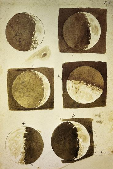 Sidereus Nuncius (Starry Messenger) with Drawings of Phases and Surface of Moon-Galileo Galilei-Giclee Print
