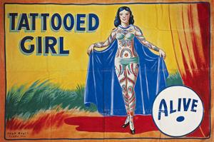 Sideshow Poster, C1955