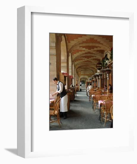 Sidewalk Cafe in the Marais, Paris, France-Lisa S^ Engelbrecht-Framed Photographic Print