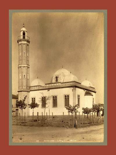 Sidi Bel Abbes Mosque, Algiers-Etienne & Louis Antonin Neurdein-Giclee Print