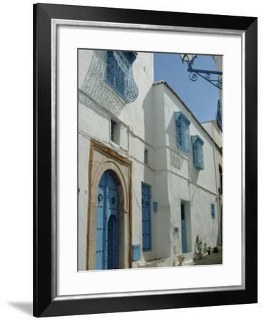 Sidi Bou Said, Near Tunis, Tunisia, North Africa, Africa-Ethel Davies-Framed Photographic Print