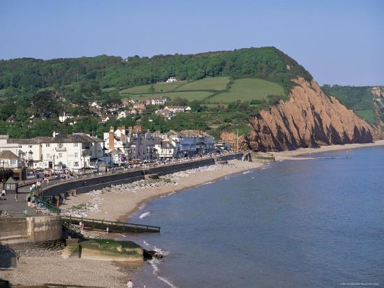 Sidmouth, Devon, England, United Kingdom-John Miller-Photographic Print